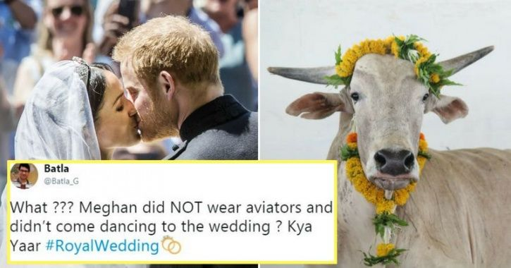 Indians React To Prince Harry & Meghan Markle's Royal Wedding In Typical Desi Style & It's Cracking