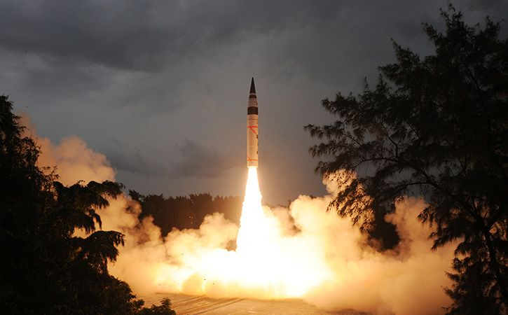 intercontinental ballistic missile Agni V