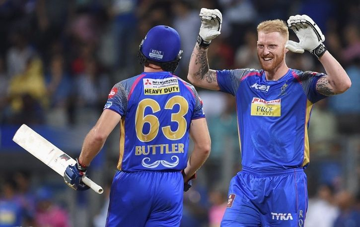 IPL 2018 jos buttler and Ben Stokes