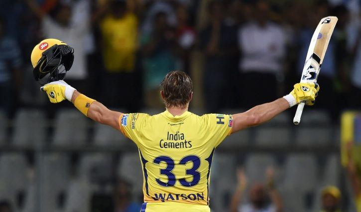IPL 2018 shane watson