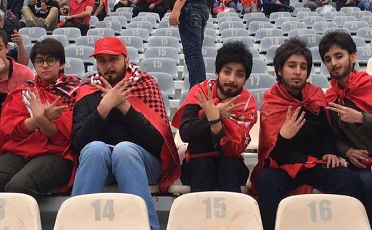 Iranian Women Who Wear Wigs And Fake Beards To Enter Football