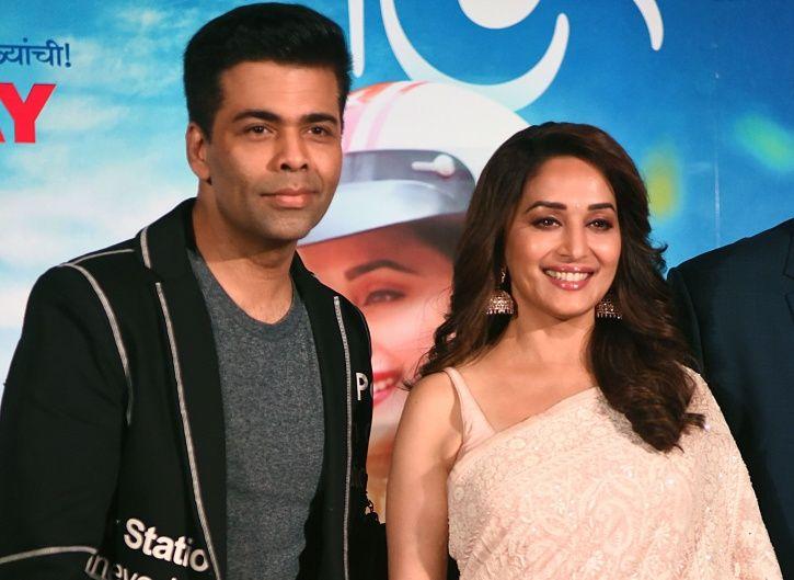 Karan JOhar and Madhuri