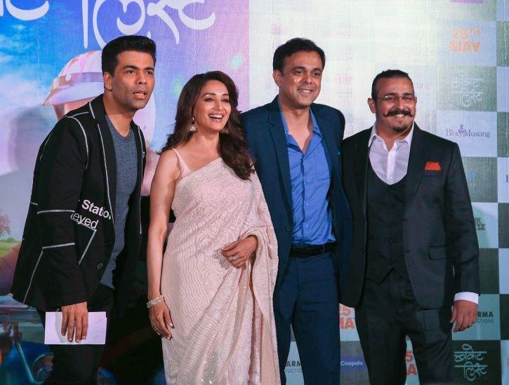 Madhuri Dixit and karan Johar