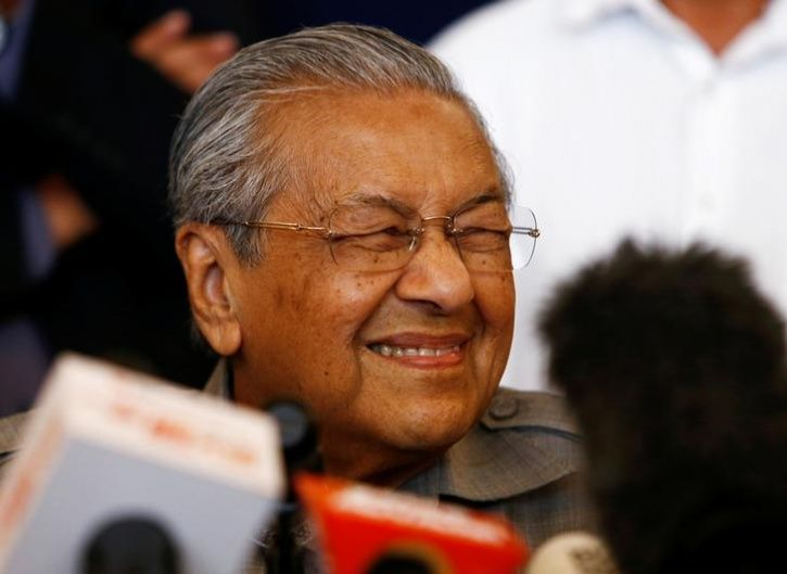Malaysia Mahathir Mohamad Become World Oldest Elected Leader