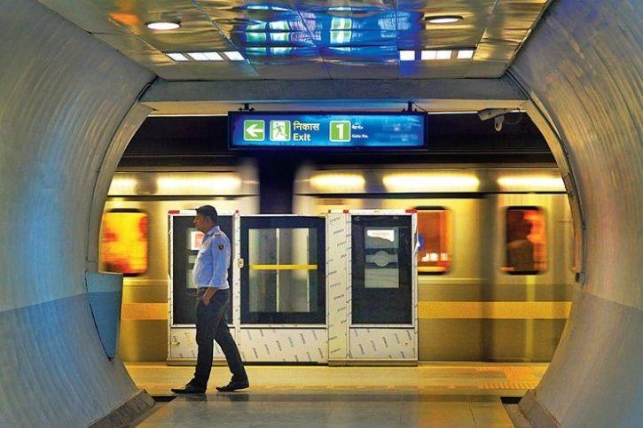 metro drunk man