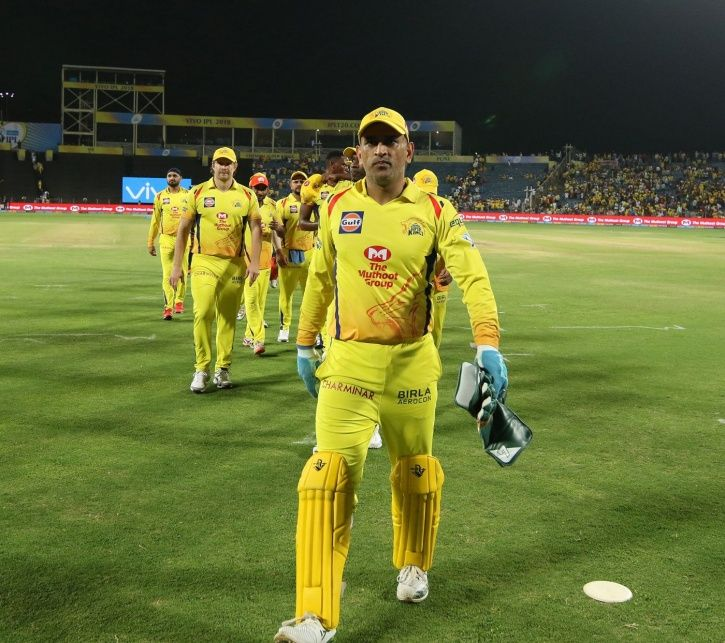 MS Dhoni is in great form in IPL 2018
