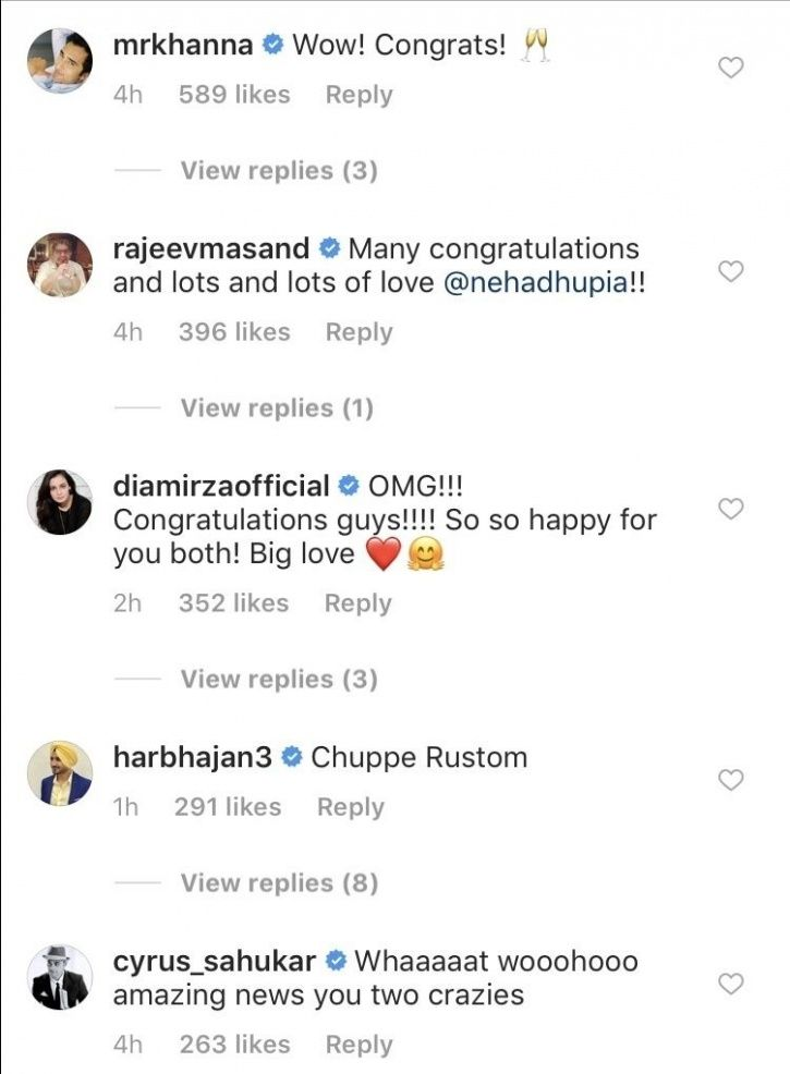 Neha Dhupia & Angad Bedi's Secret Marriage Was A Surprise For Not Only Us But Bollywood As Well