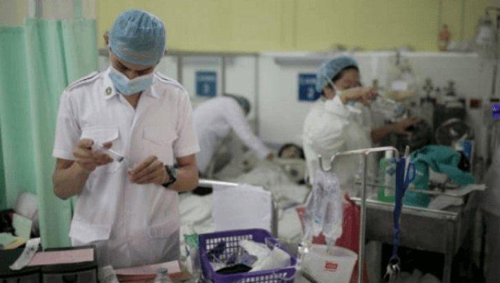 nurses at the job work