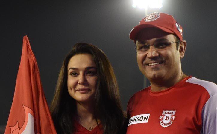 Preity Zinta In Verbal Altercation With Virender Sehwag