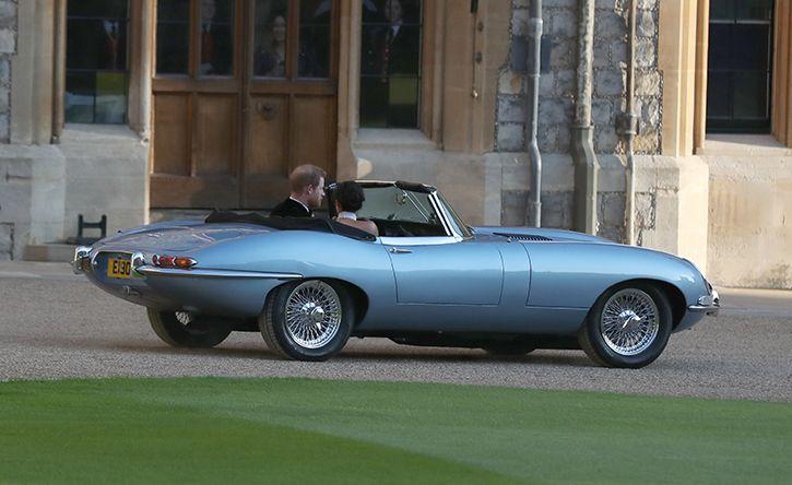 prince harry meghan markle jaguar