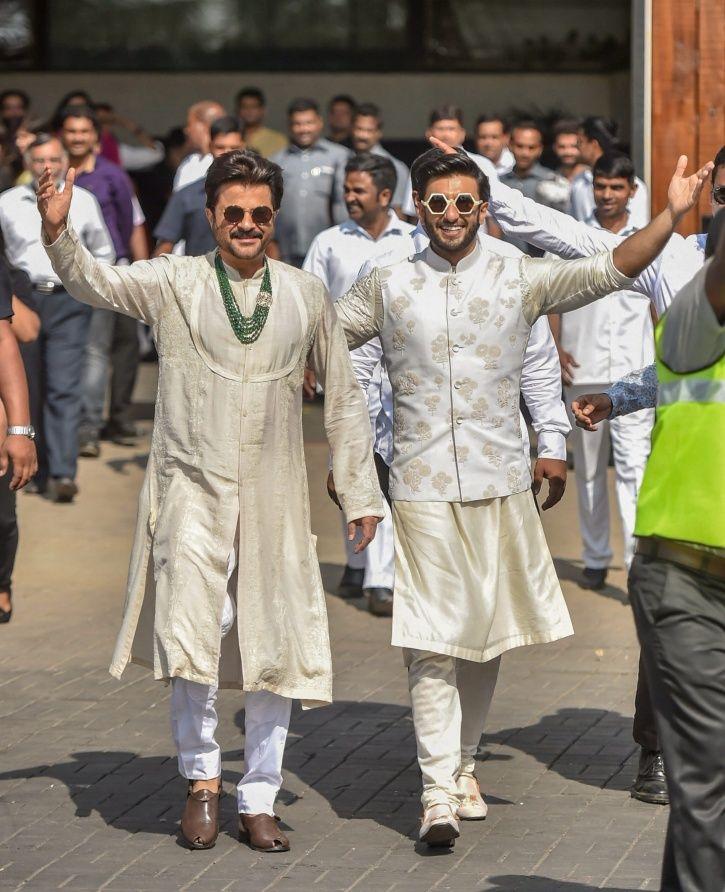 Ranveer and Anil Kapoor