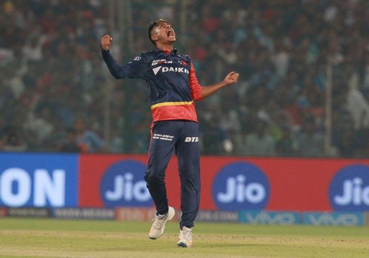 Sandeep Lamichhane made his IPL debut for DD vs RCB