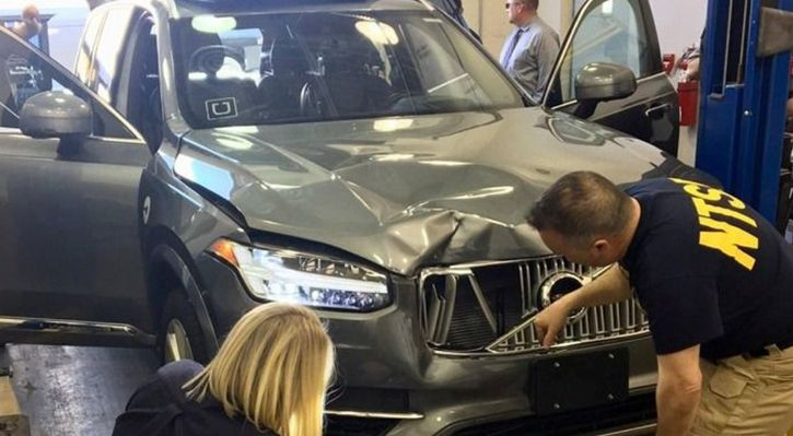 Self-driving car that refused to recognise a human