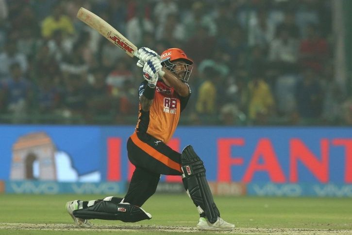 Shikhar Dhawan slammed 79 in 49 balls