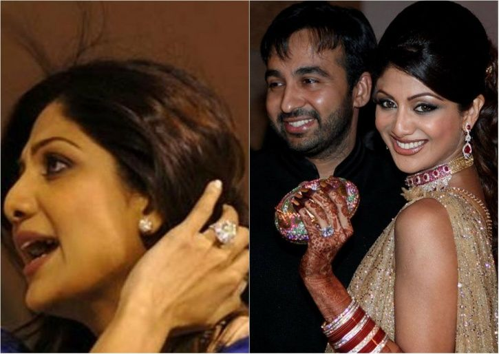 Shilpa Shetty wears a Rs 3 crore engagement ring which her business tycoon husband Raj Kundra gave.
