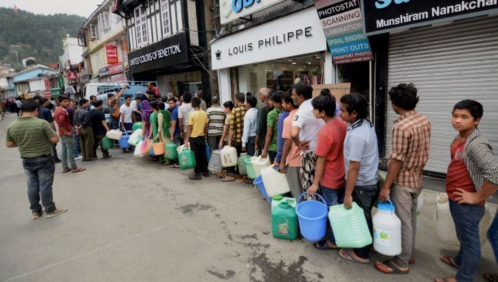 Shimla Water Crisis