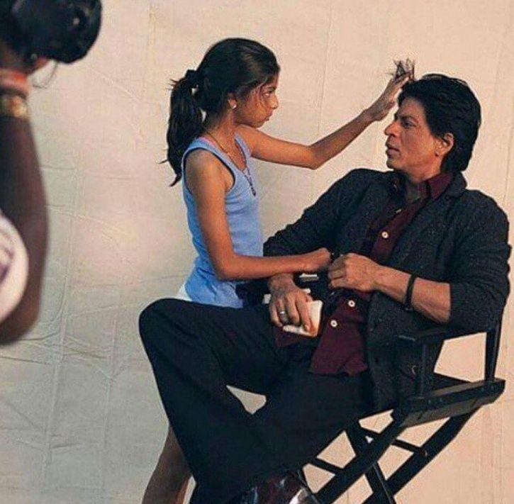 SRK and Suhana
