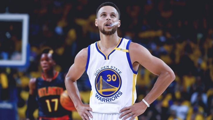 Stephen Curry used the f-word