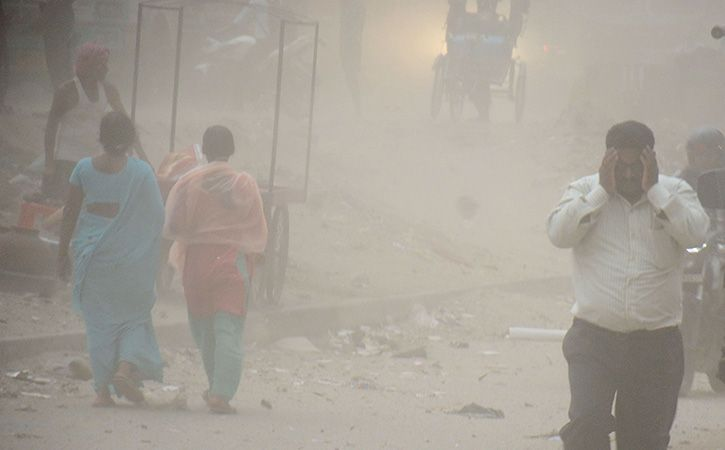 Superstorms Across India Kill 127