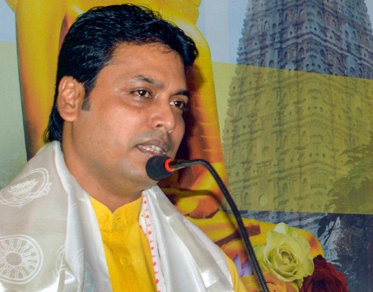 Tripura Chief Minister Biplab Deb