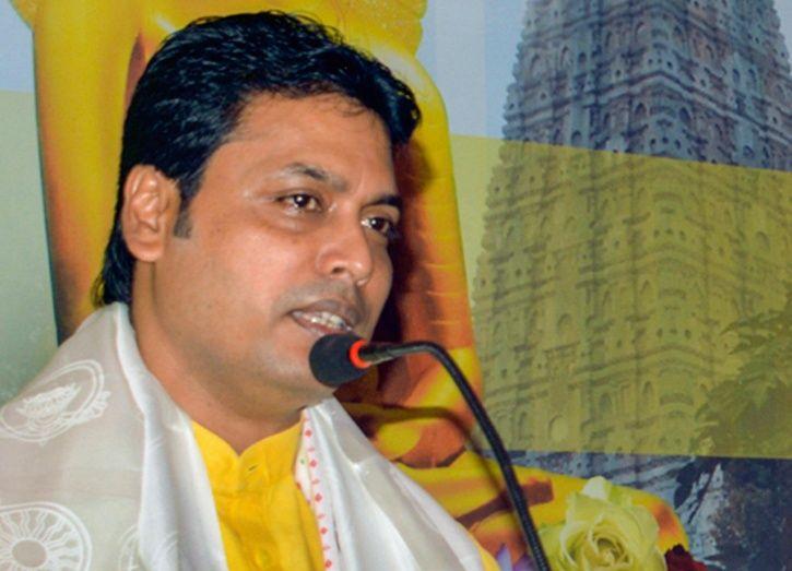 Tripura CM Biplab Deb Says Tagore Returned Nobel Prize In Protest Against British