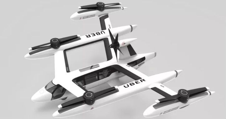 Uber flying taxi