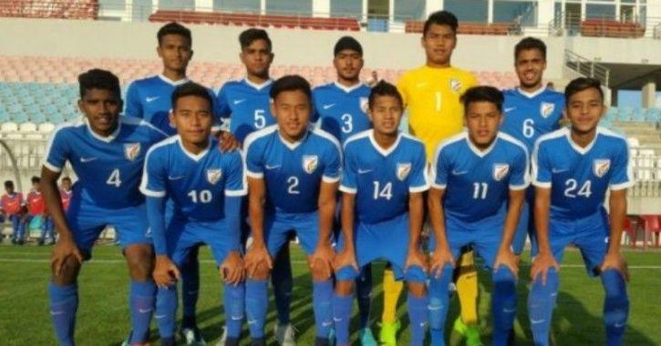 under 16 indian football team