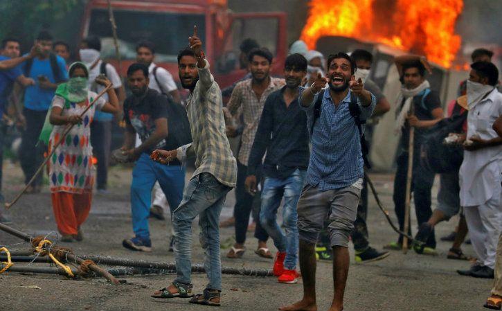 violent protesters