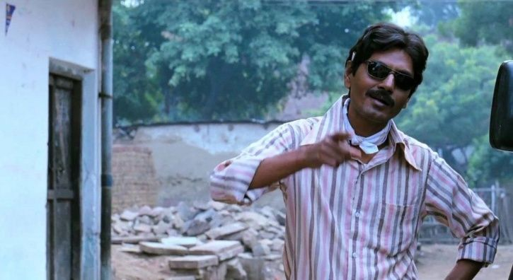 A picture of Nawazuddin Siddiqui from Gangs of Wasseypur. Mirzapur.