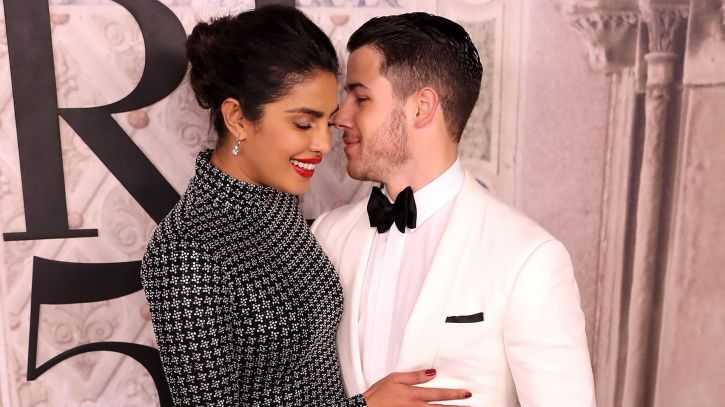 A picture of Priyanka Chopra and Nick Jonas who will soon tie the knot in Jodhpur.