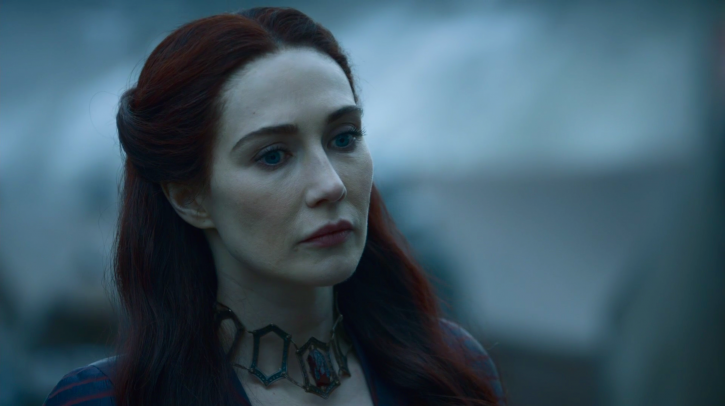 A picture of Red Witch from Game of Thrones.