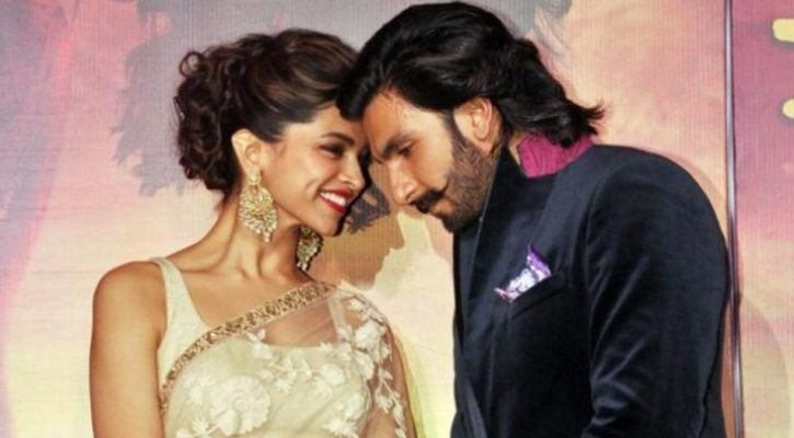A picture of soon to be married couple Ranveer Singh and Deepika Padukone.