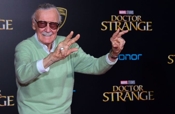 A picture of Stan Lee.
