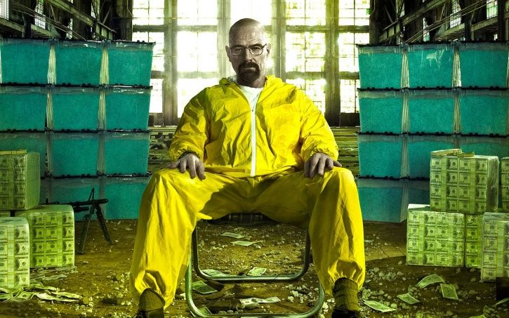 A picture of Walter White AKA Bryan Cranston from Breaking Bad.