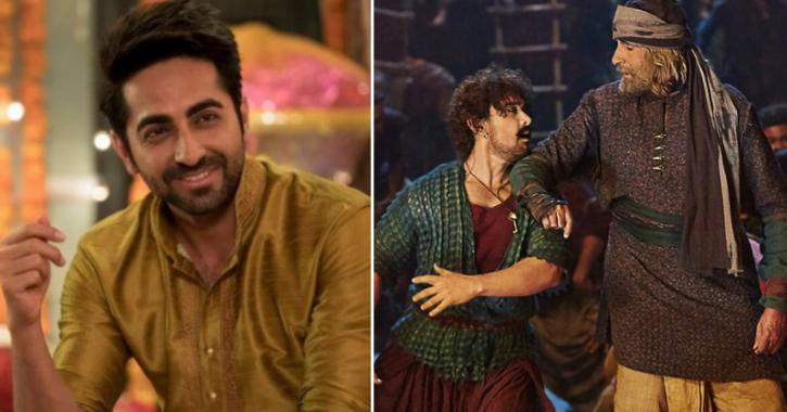 Aamir Khan Fails To Beat Ayushmann Khurrana As 'Badhaai Ho' Races Ahead Of 'Thugs of Hindostan' At B