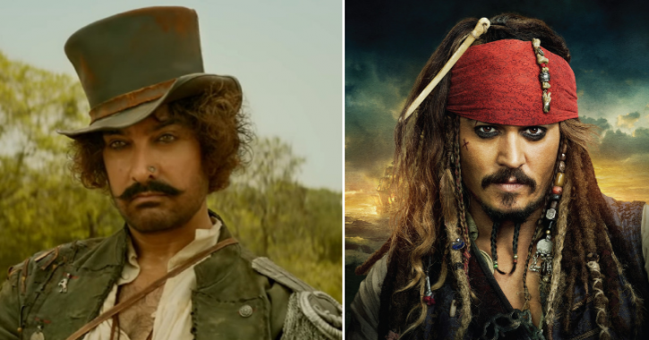 Aamir Khan Hopes People Will Forget Jack Sparrow After Watching His Character In Thugs of Hindostan!