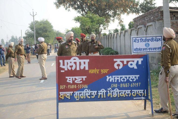 Amritsar Attack Arrest