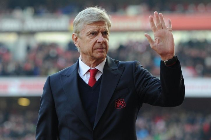 Arsene Wenger was in charge of Arsenal for a long time