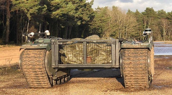 Autonomous military vehicles