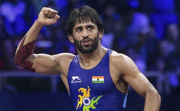 Bajrang Punia Becomes World Number One In 65kg