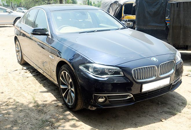 BMW Car Owner Thrashes Cyclist Robs Him Of Rs 700