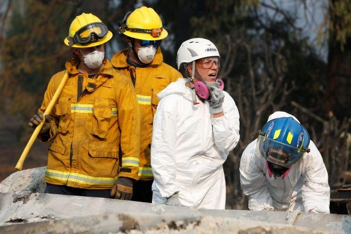 California fire, 76 dead, 1276 missing, Donald Trump, Paradise, drought, rescue