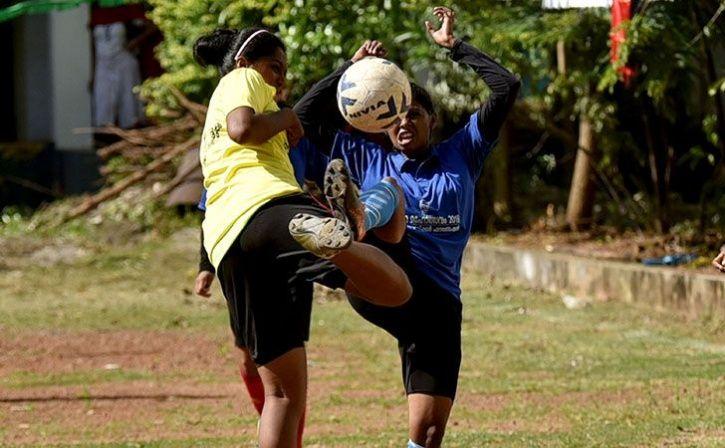 Child Brides In Rajasthan Take To Football