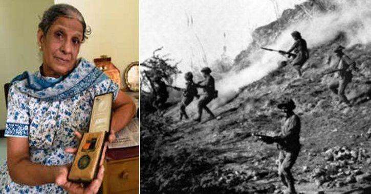 Chitra Samant 1971 war