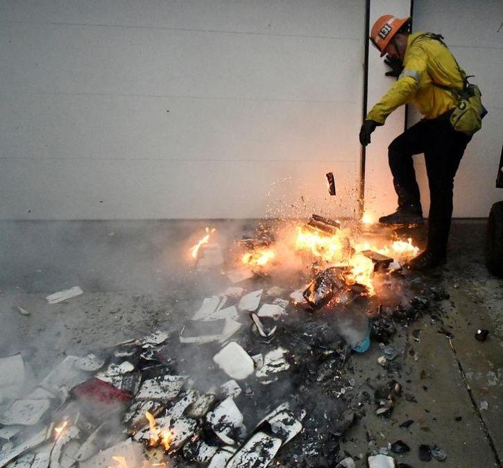 Deadly California Fire1