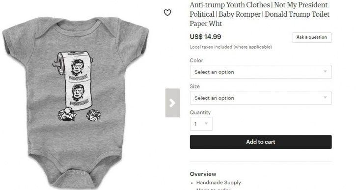 Donald Trump Baby Clothes