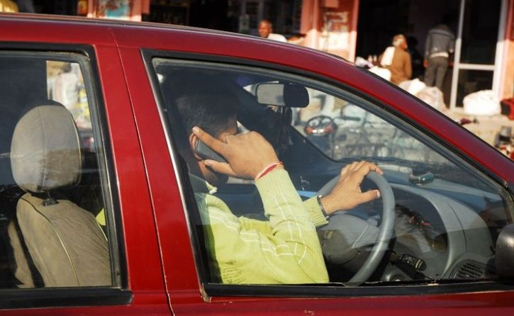 Driving Using Mobile