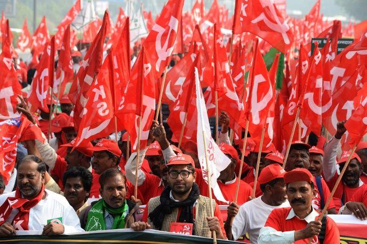Farmer protest AFP