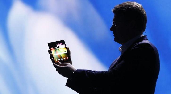 Galaxy F foldable smartphone