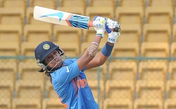 Harmanpreet Kaur made 103 not out